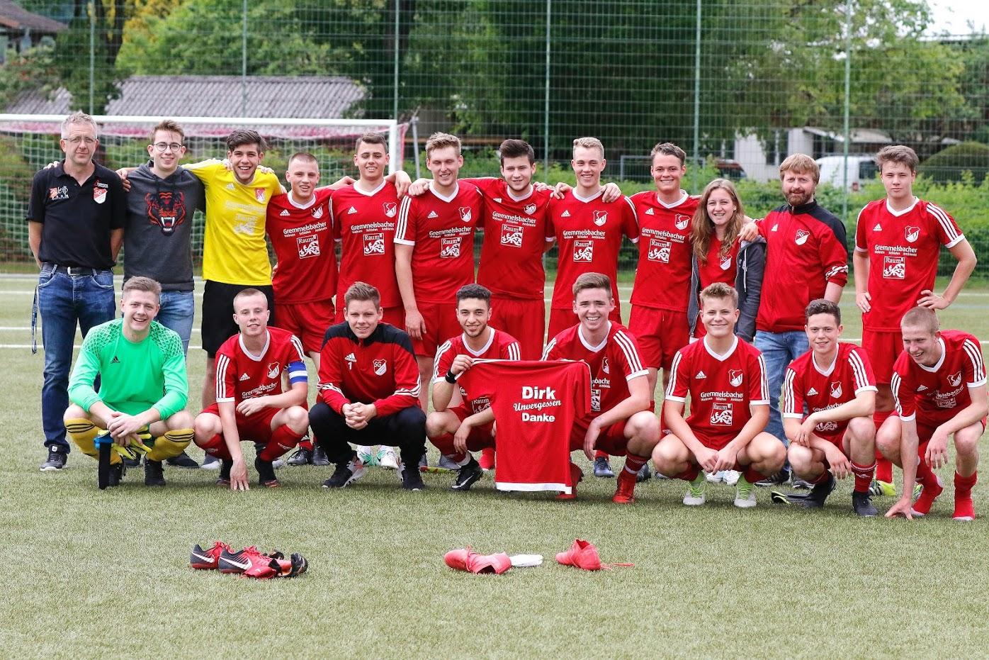 A-Junioren Zweiter in der Landesliga