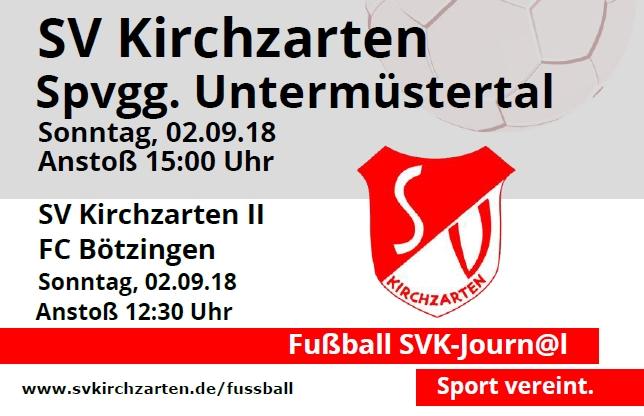 Fußball Heimspiele und Stadionheft KW35