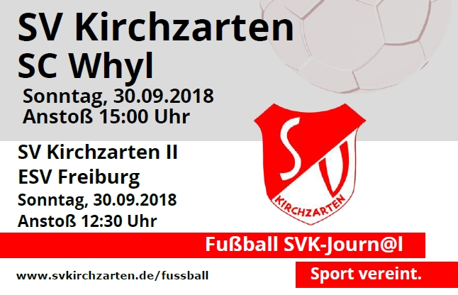 Fußball Heimspiele und Stadionheft KW39