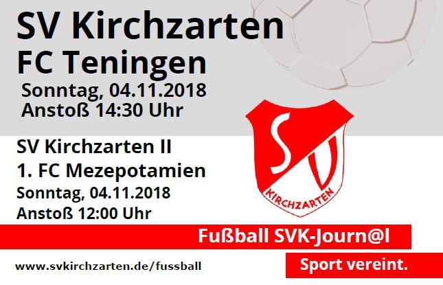 Fußball Heimspiele und Stadionheft KW44