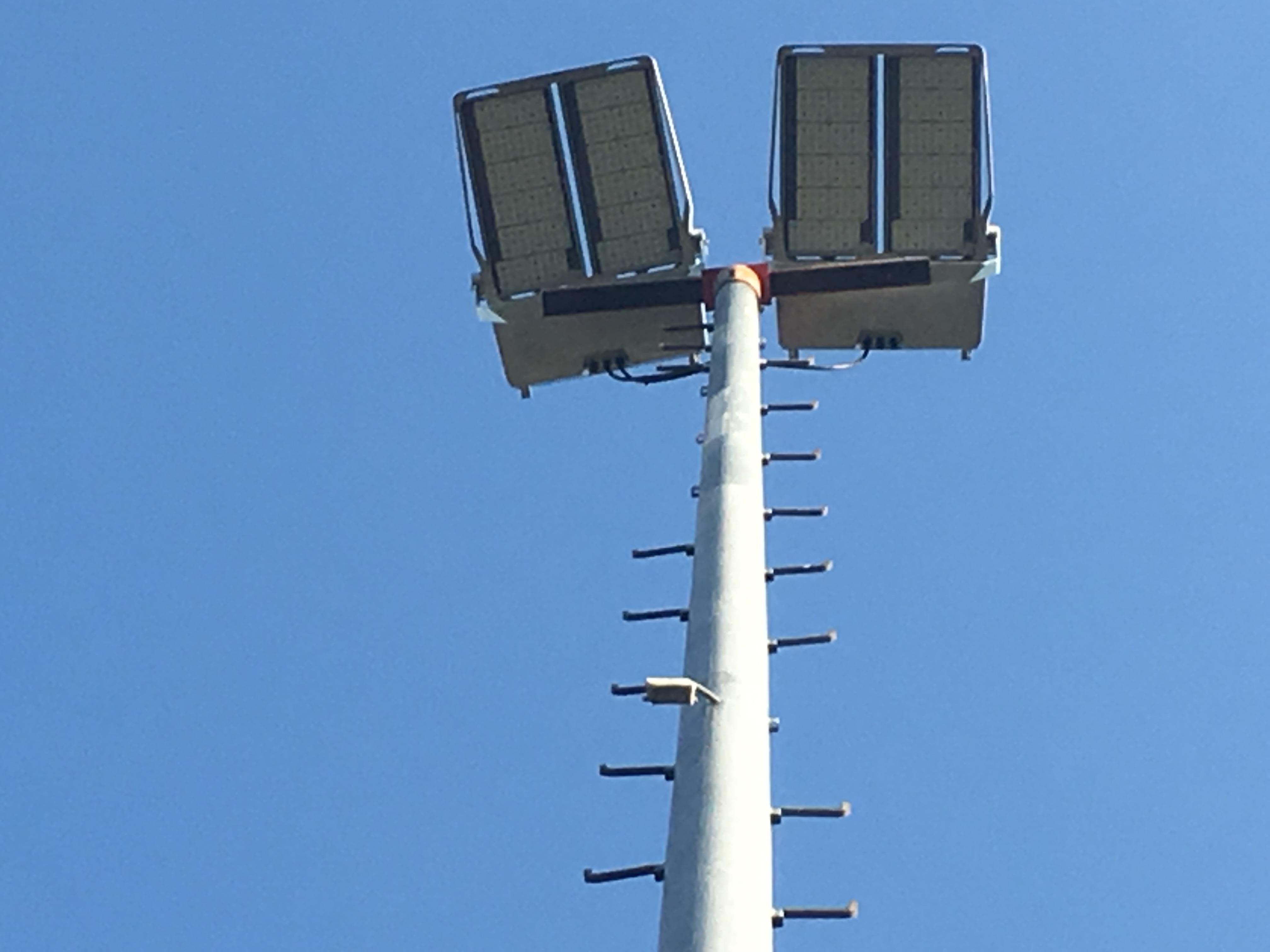 Neue Flutlichtanlage