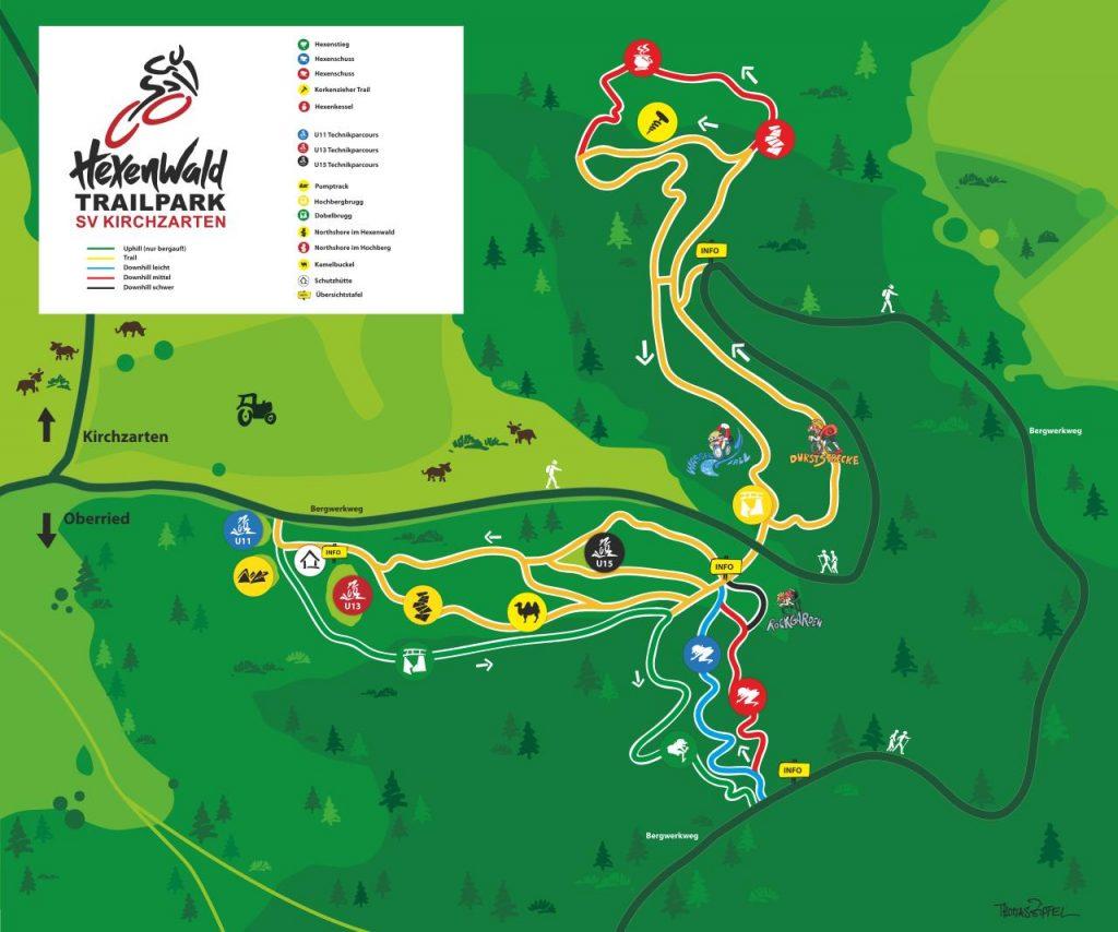 Hexenwald-Trailpark – Helfen trotz Coronasperre