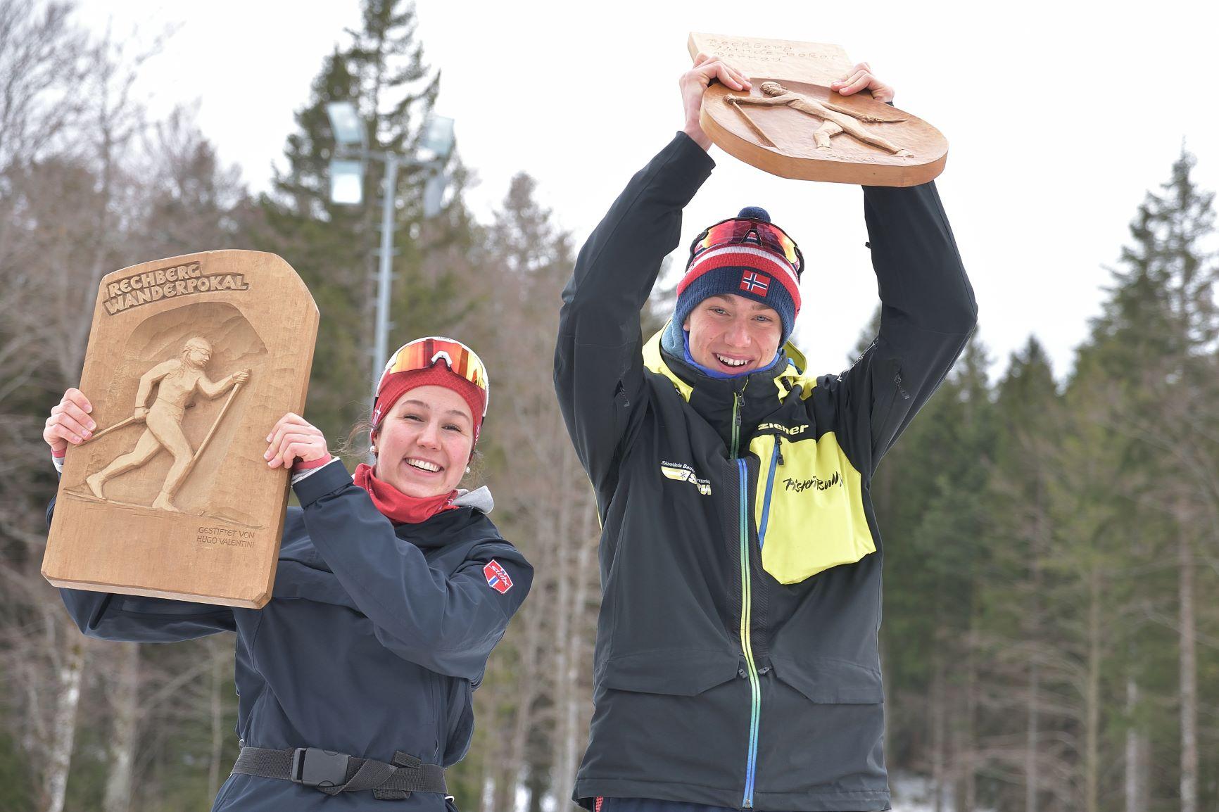 Rechbergpokal: Sieg für Emily Weiss und Matteo Lewe vom SVK