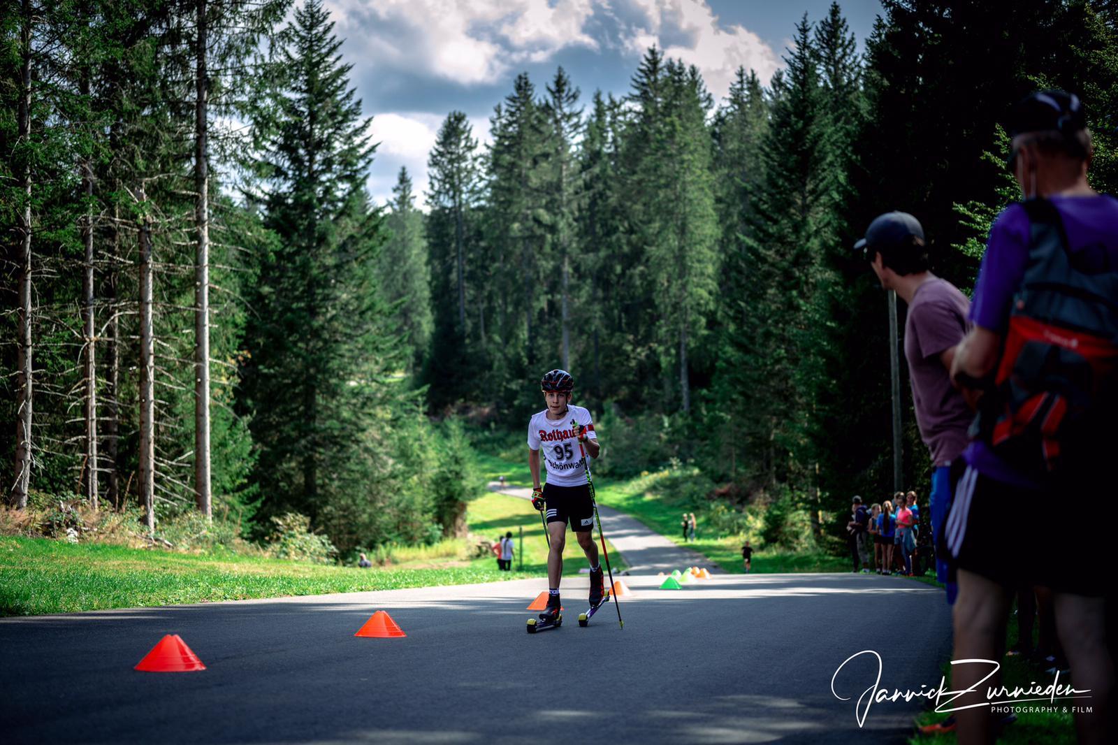 RWS-CUP Biathlon – Finn Zurnieden läuft auf's Podest