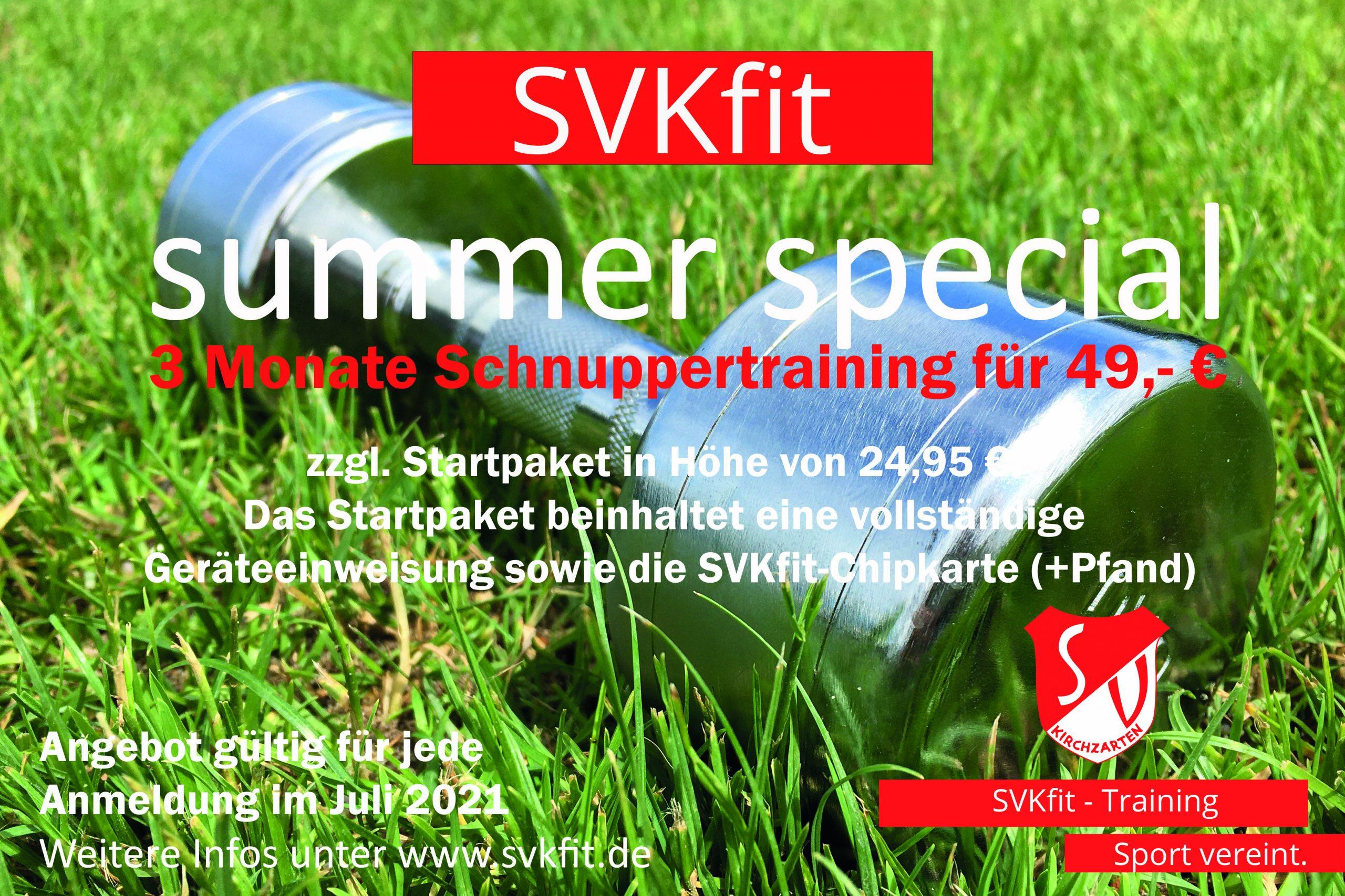 SVKfit Summer-Special Angebot