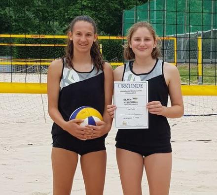 Südbadische Beach-Meisterinnen U16 und U18